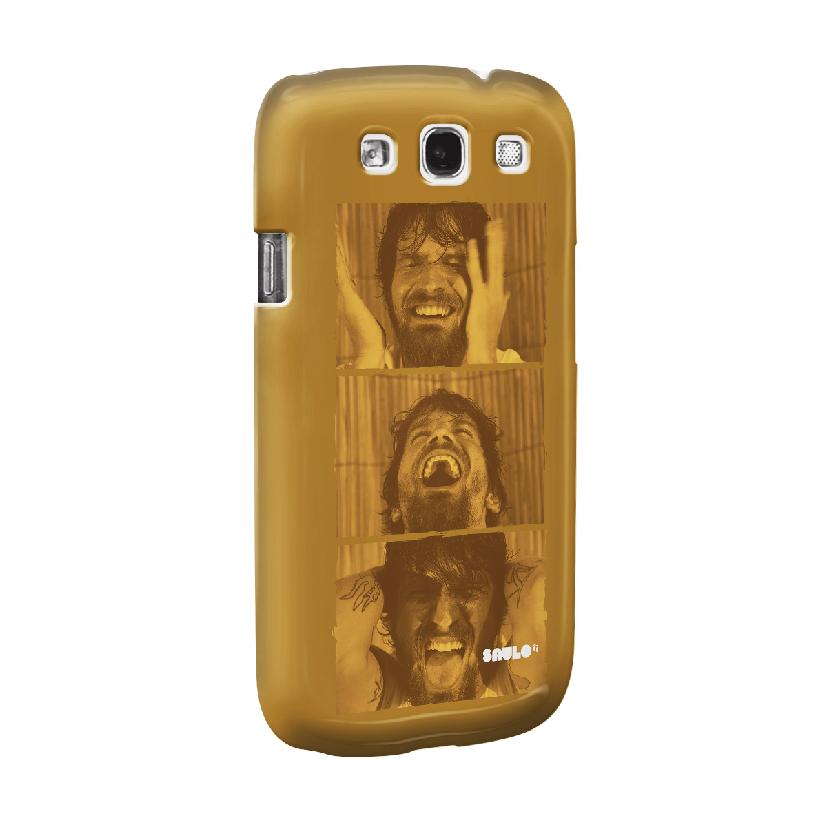 Capa de Celular Samsung Galaxy S3 Saulo Foto Modelo 2