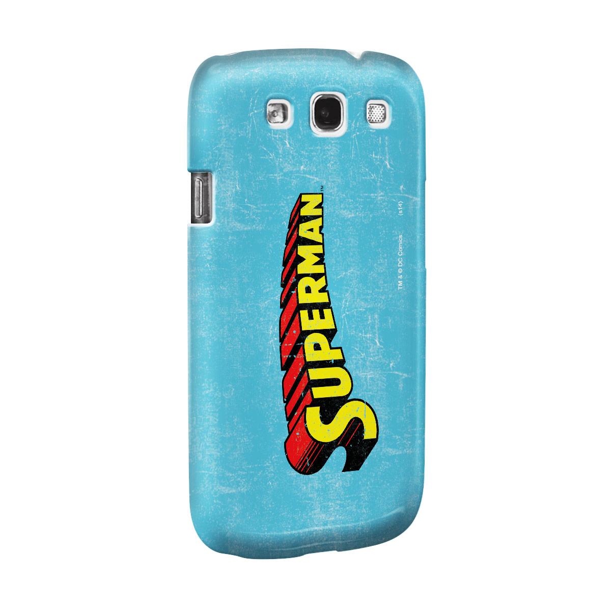 Capa de Celular Samsung Galaxy S3 Superman Logo Clássico
