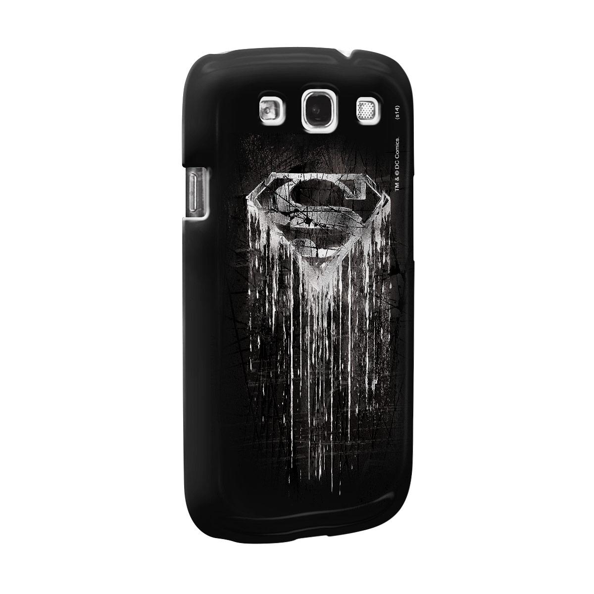 Capa de Celular Samsung Galaxy S3 Superman Steel Melting