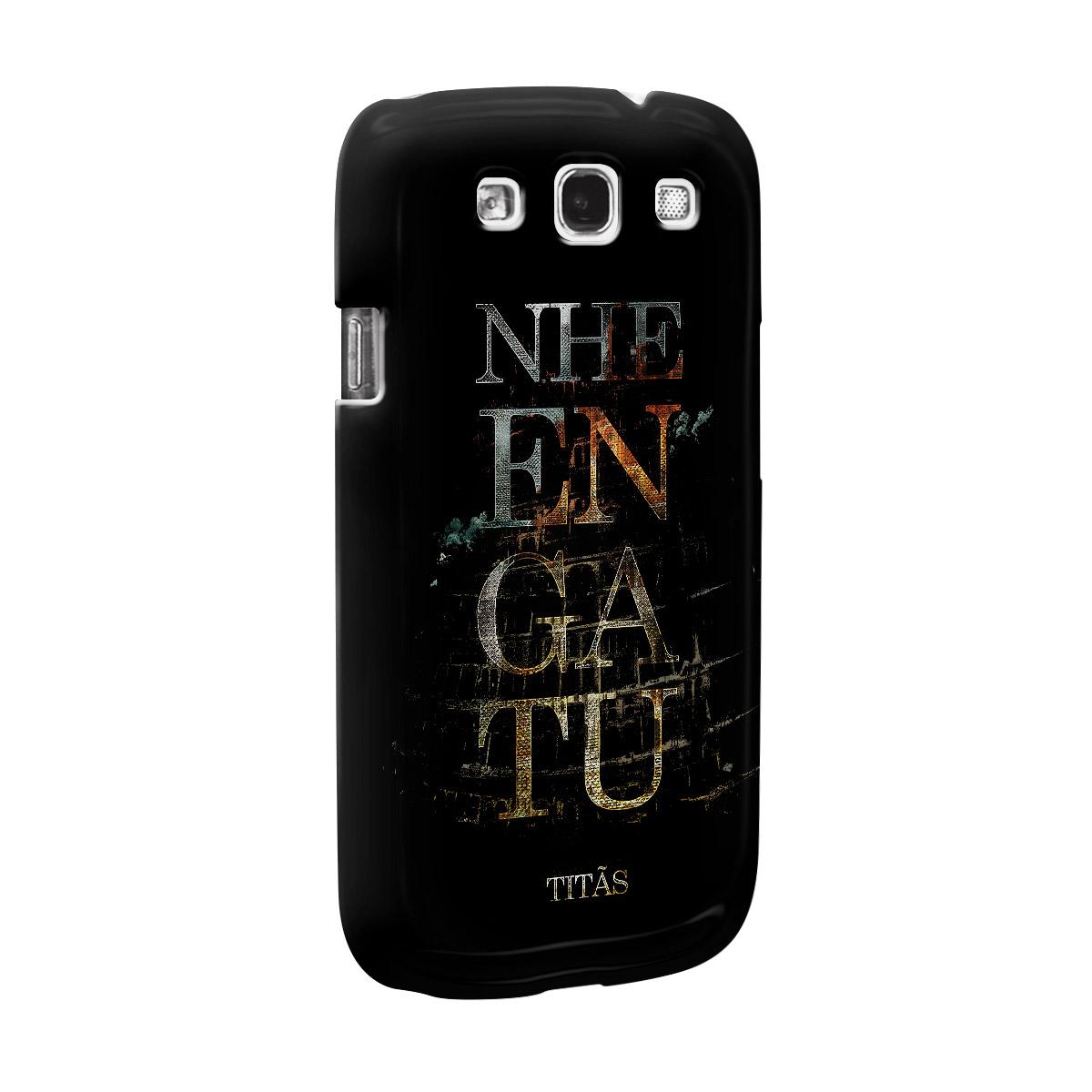 Capa de Celular Samsung Galaxy S3 Titãs Nheengatu