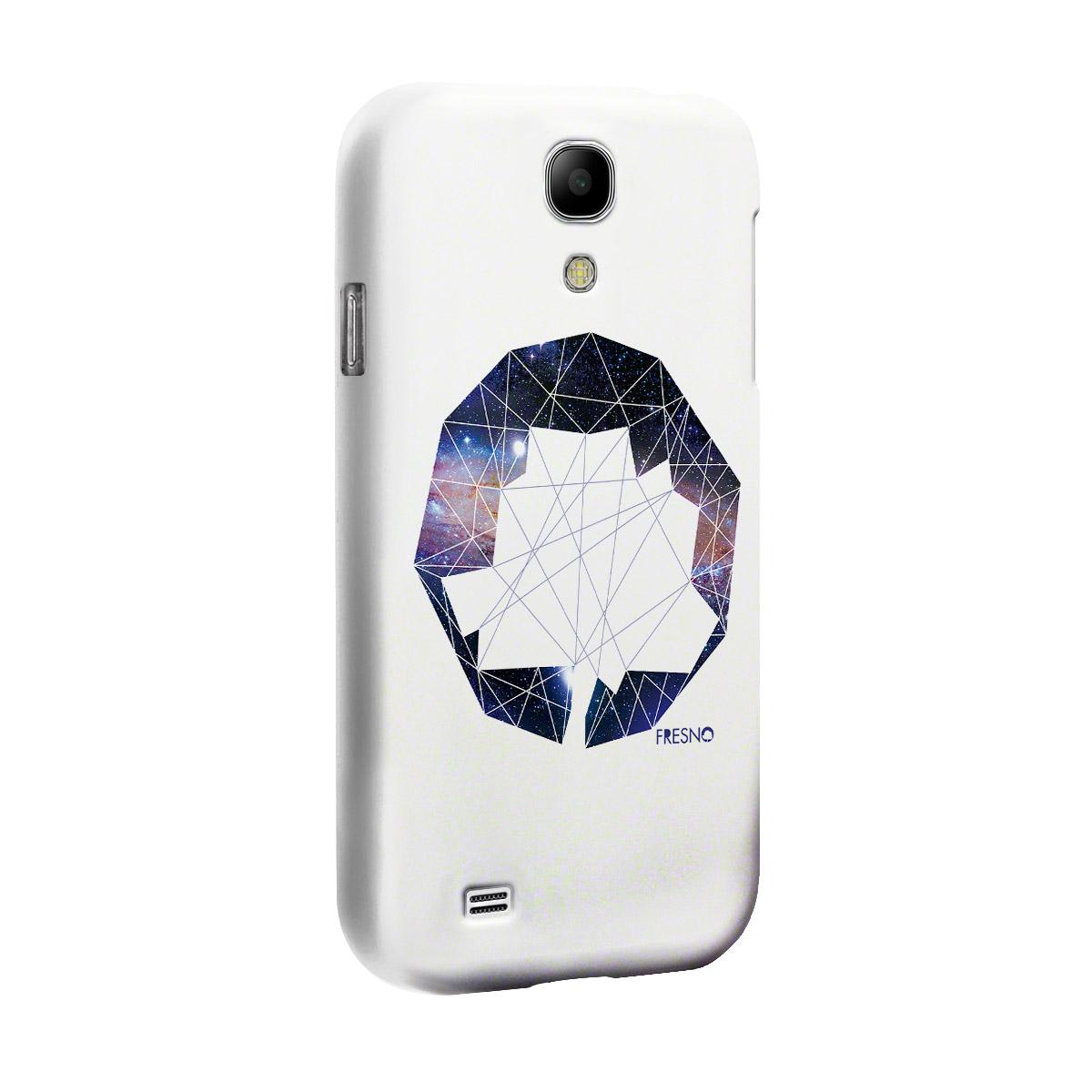 Capa de Celular Samsung Galaxy S4 Fresno Logo Gal�xias