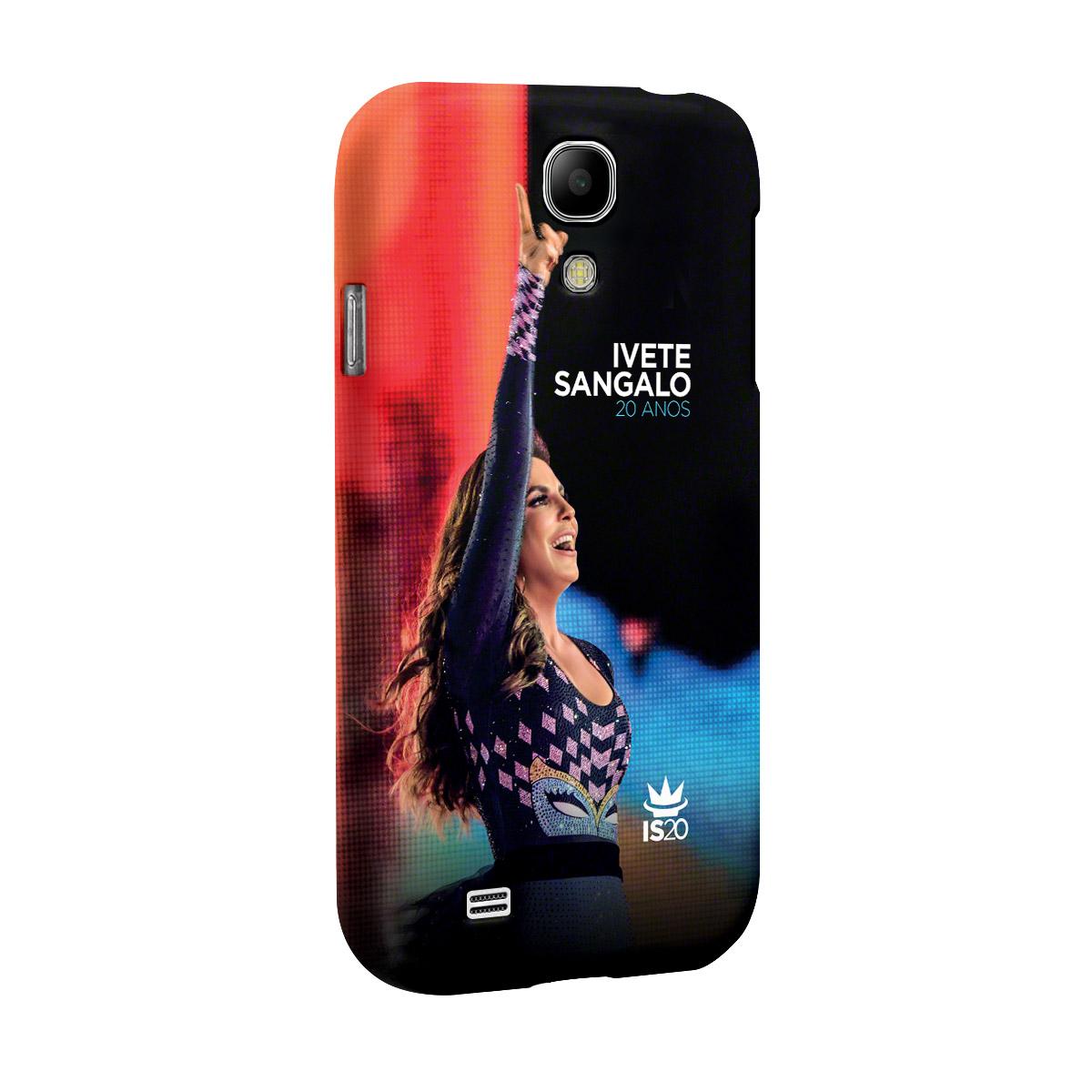 Capa de Celular Samsung Galaxy S4 Ivete Sangalo Capa 20 Anos
