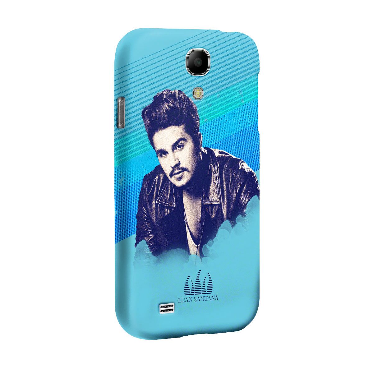 Capa de Celular Samsung Galaxy S4 Luan Santana Sky