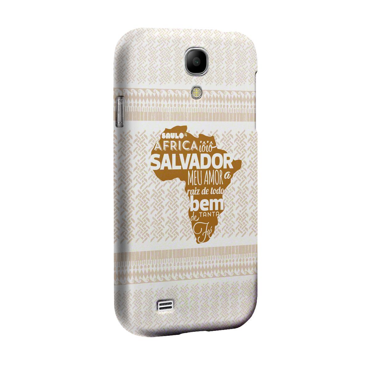 Capa de Celular Samsung Galaxy S4 Saulo Raíz de Todo Bem