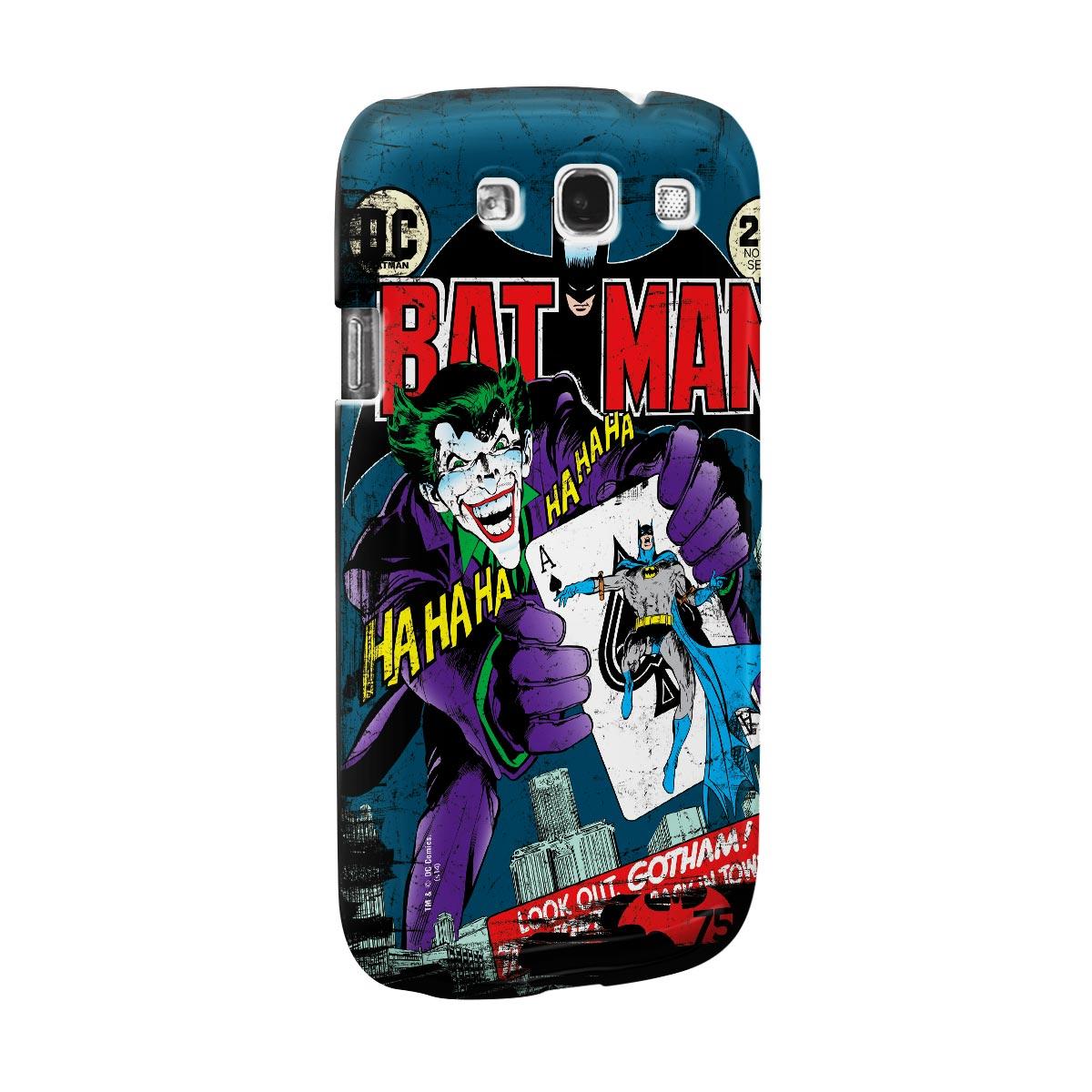 Capa de Celular Samsung S3 Batman 75 Anos HQ Nº251