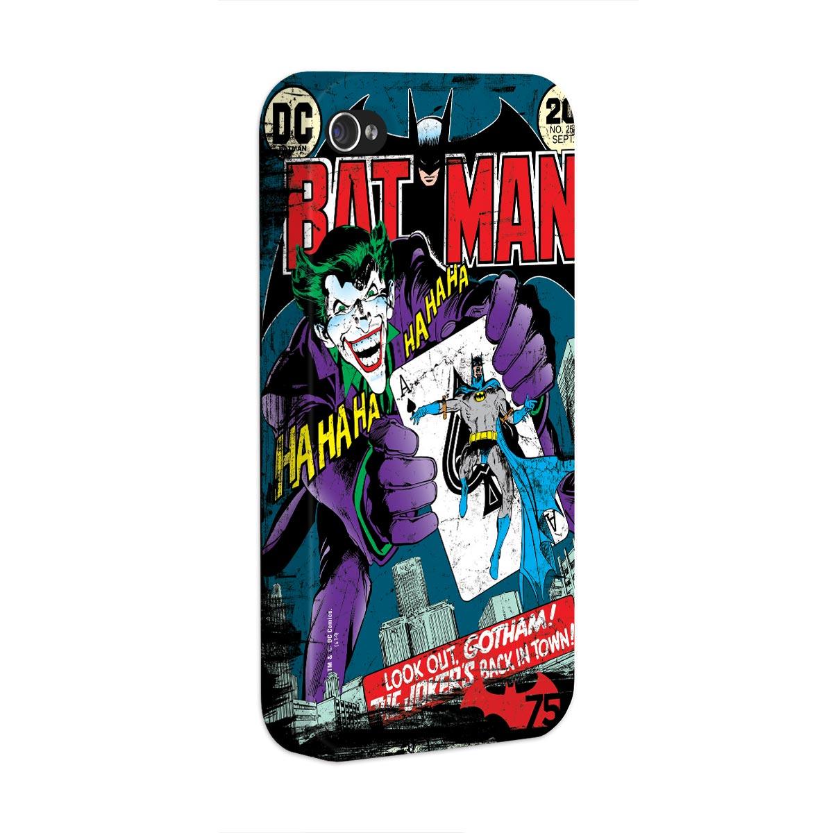 Capa de iPhone 4/4S Batman 75 Anos HQ Nº251