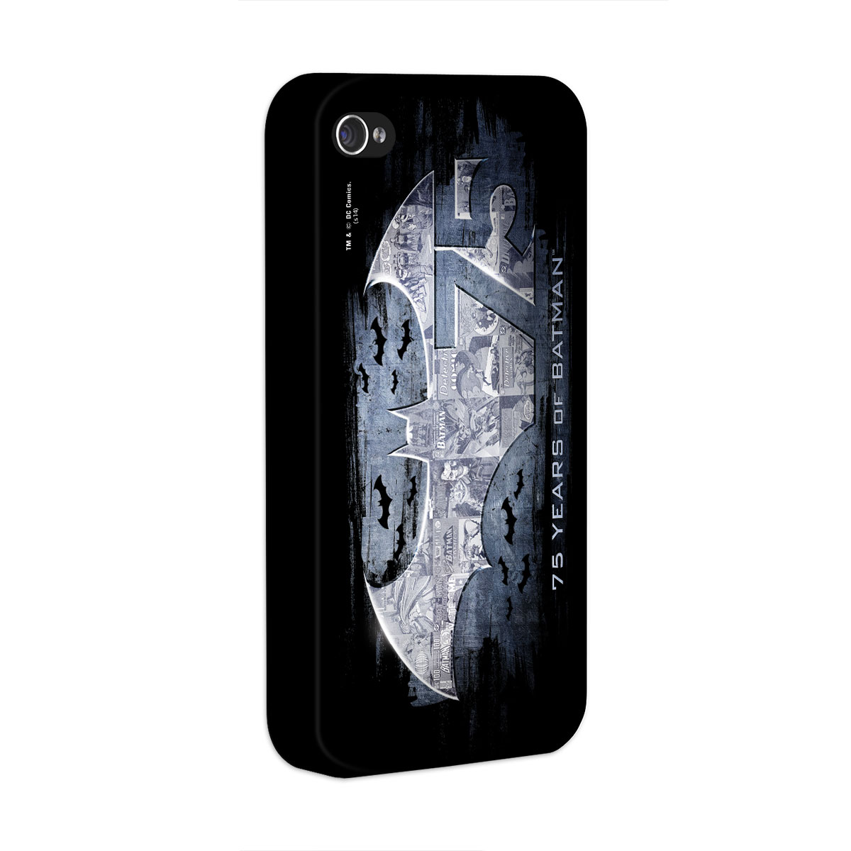 Capa de iPhone 4/4S Batman 75 Anos Logo 2