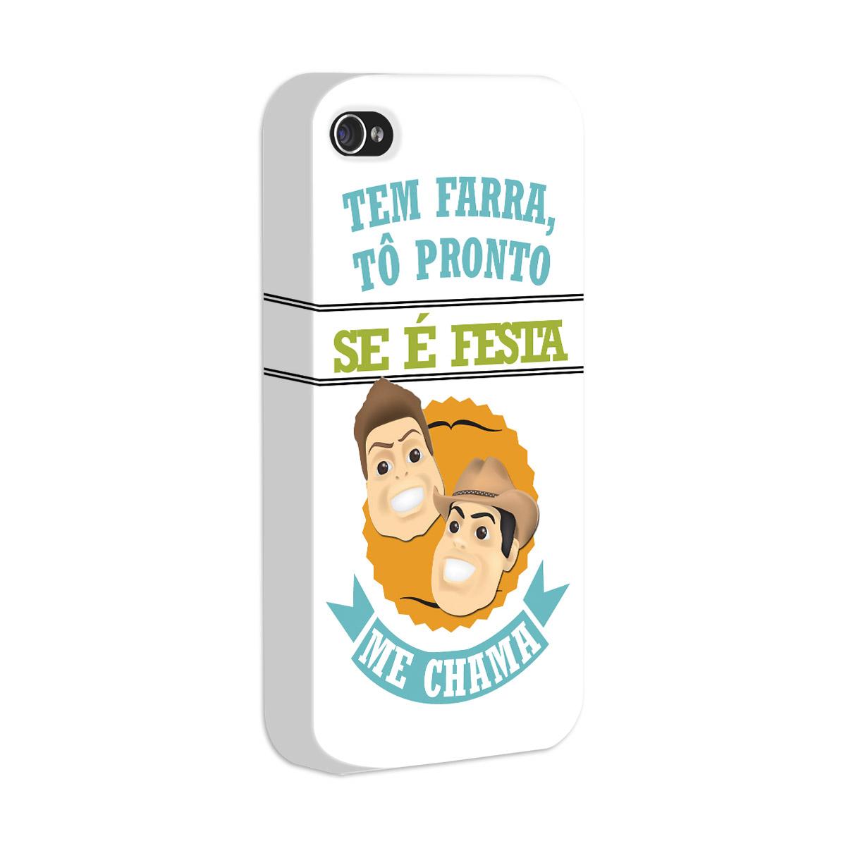 Capa de iPhone 4/4S Fernando e Sorocaba - É Tenso Modelo 5
