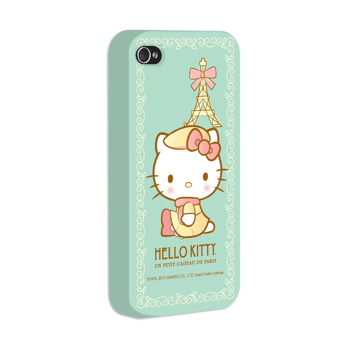 Capa de iPhone 4/4S Hello Kitty Un Petit Cadeau