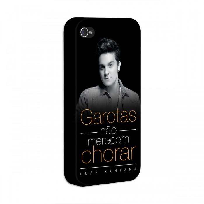 Capa de iPhone 4/4S Luan Santana Garotas N�o Merecem Chorar