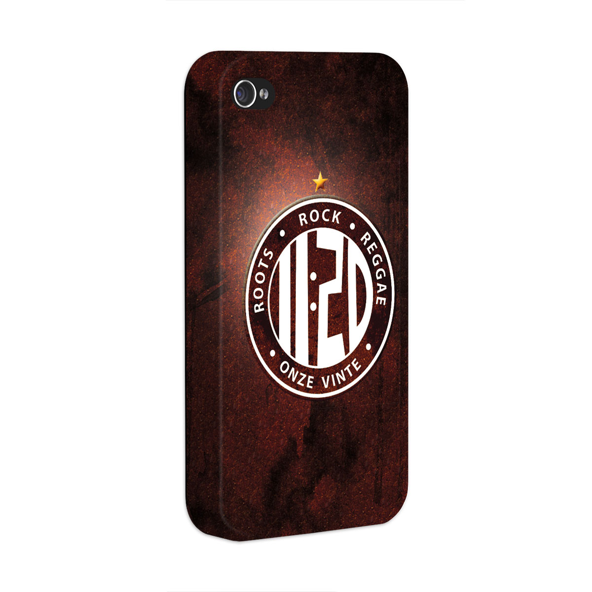 Capa de iPhone 4/4S Onze:20 Logo