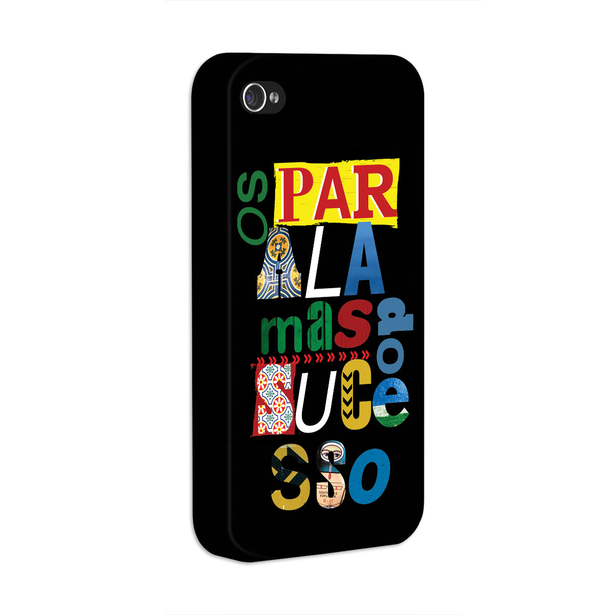 Capa de iPhone 4/4S Os Paralamas do Sucesso Type