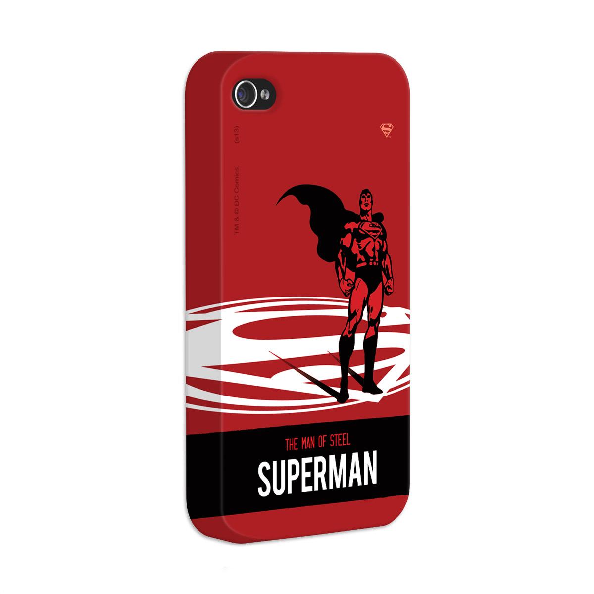Capa de iPhone 4/4S Superman The Man of Steel