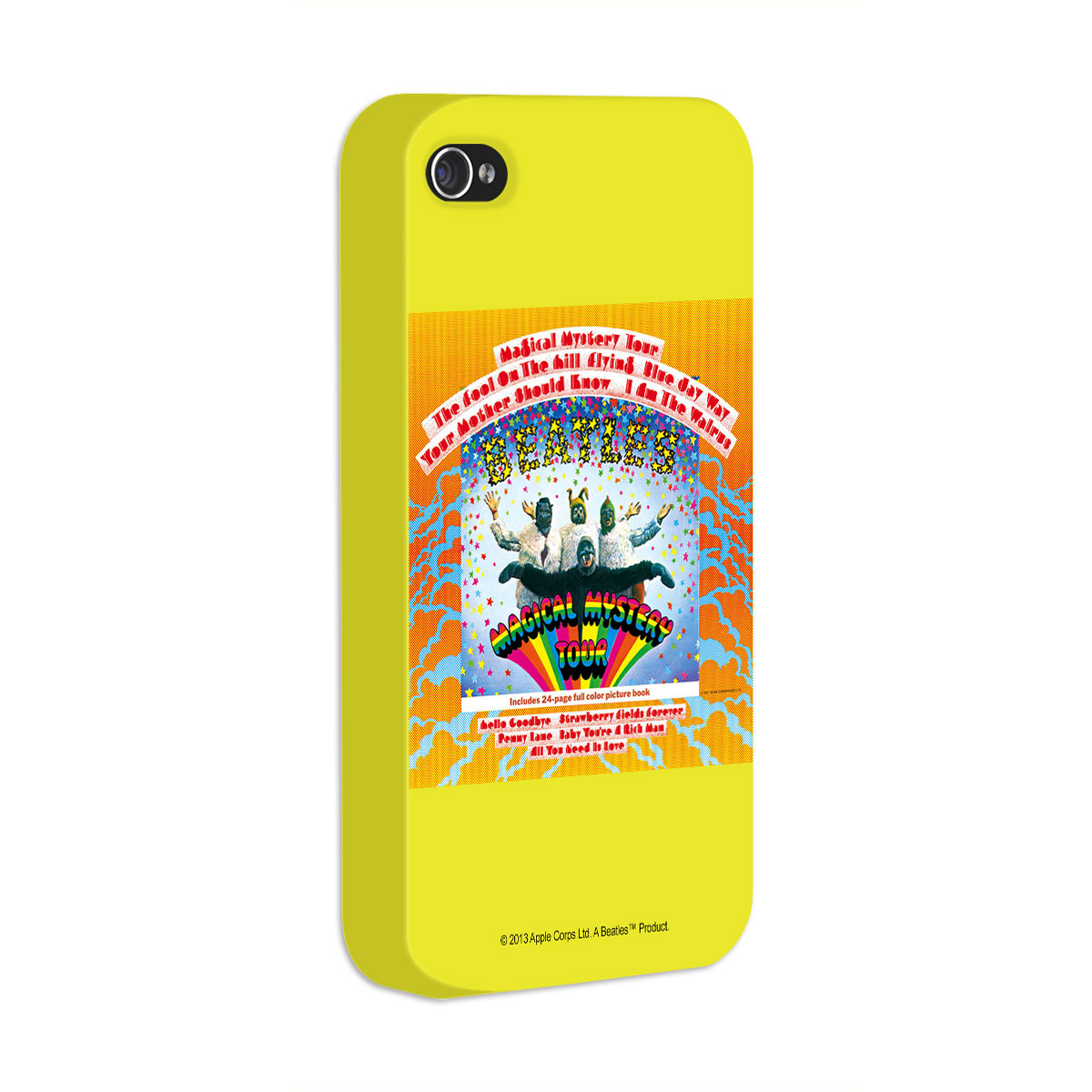 Capa de iPhone 4/4S The Beatles Magical Mistery Tour