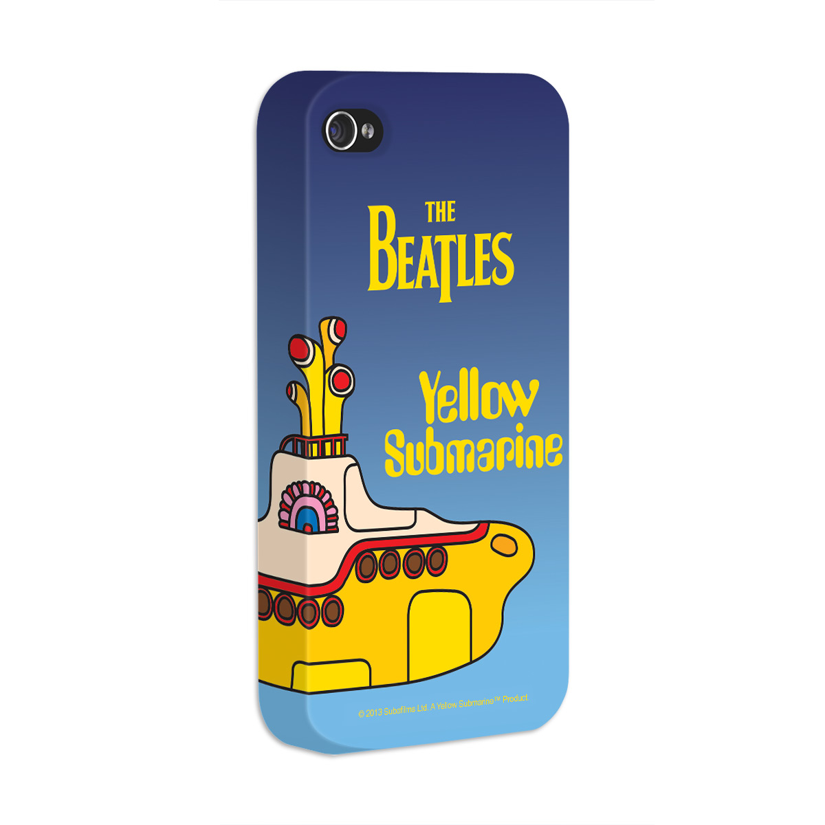 Capa de iPhone 4/4S The Beatles Yellow Submarine