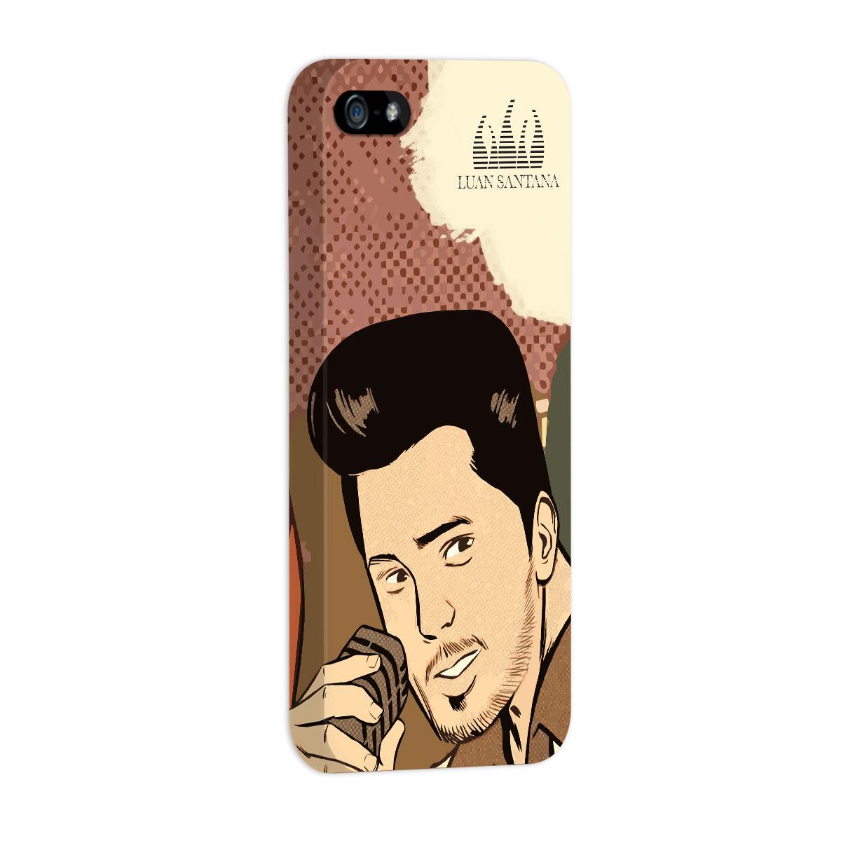 Capa de iPhone 5/5S Luan Santana Eu Não Merecia Isso