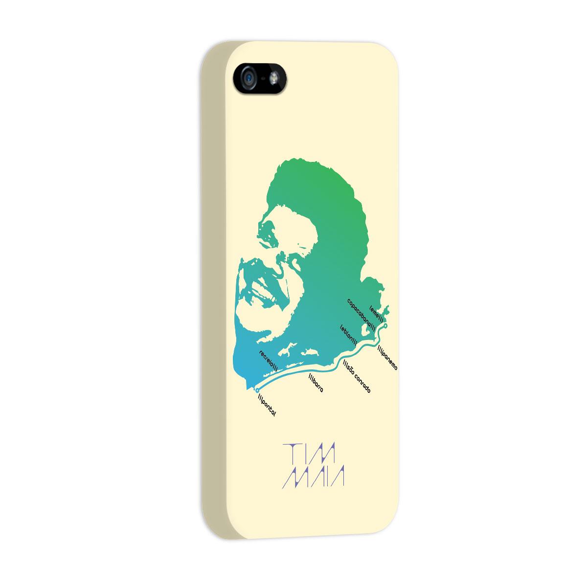Capa de iPhone 5/5S Tim Maia O Rio de Janeiro Continua Lindo