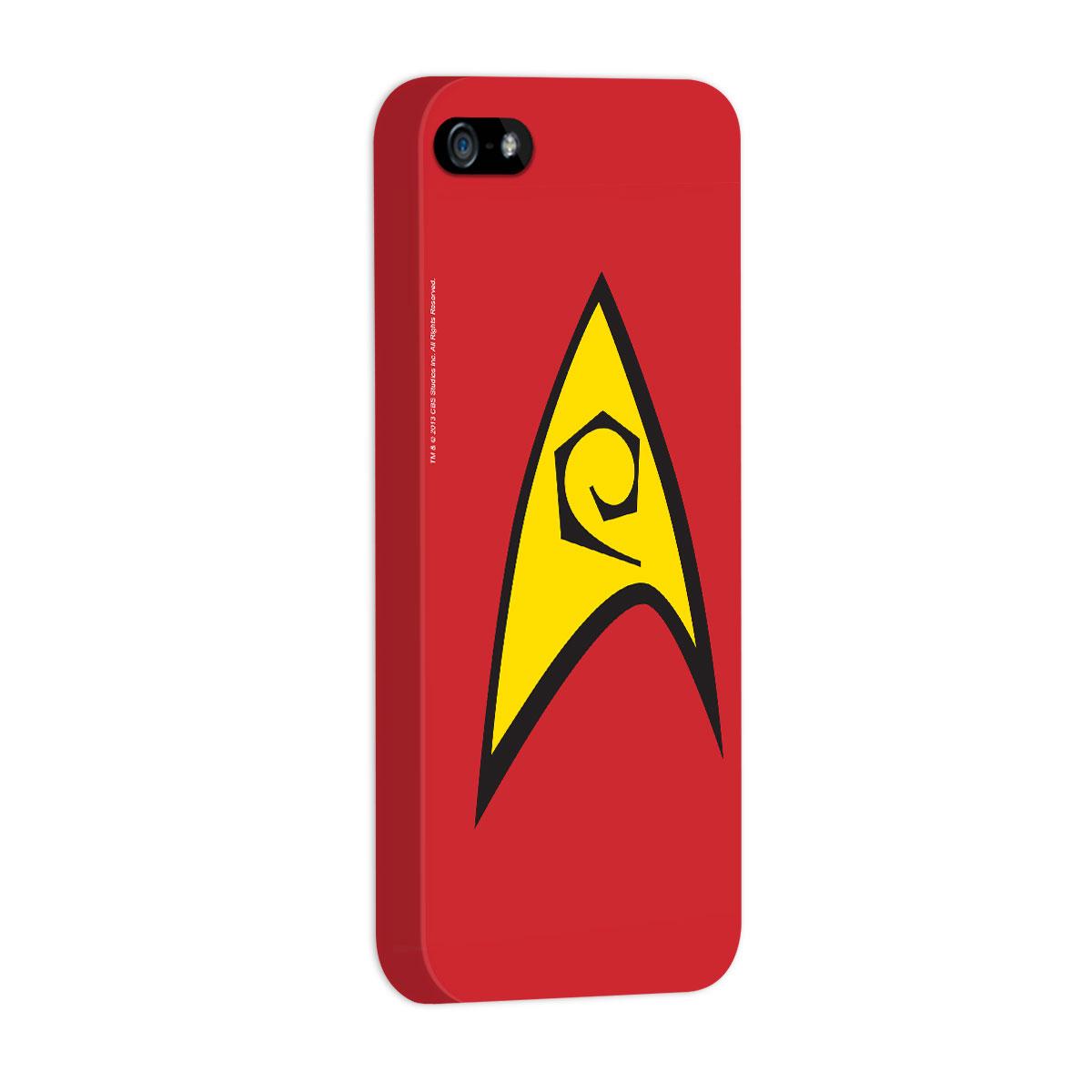 Capa de iPhone 5/5S Star Trek Command Red