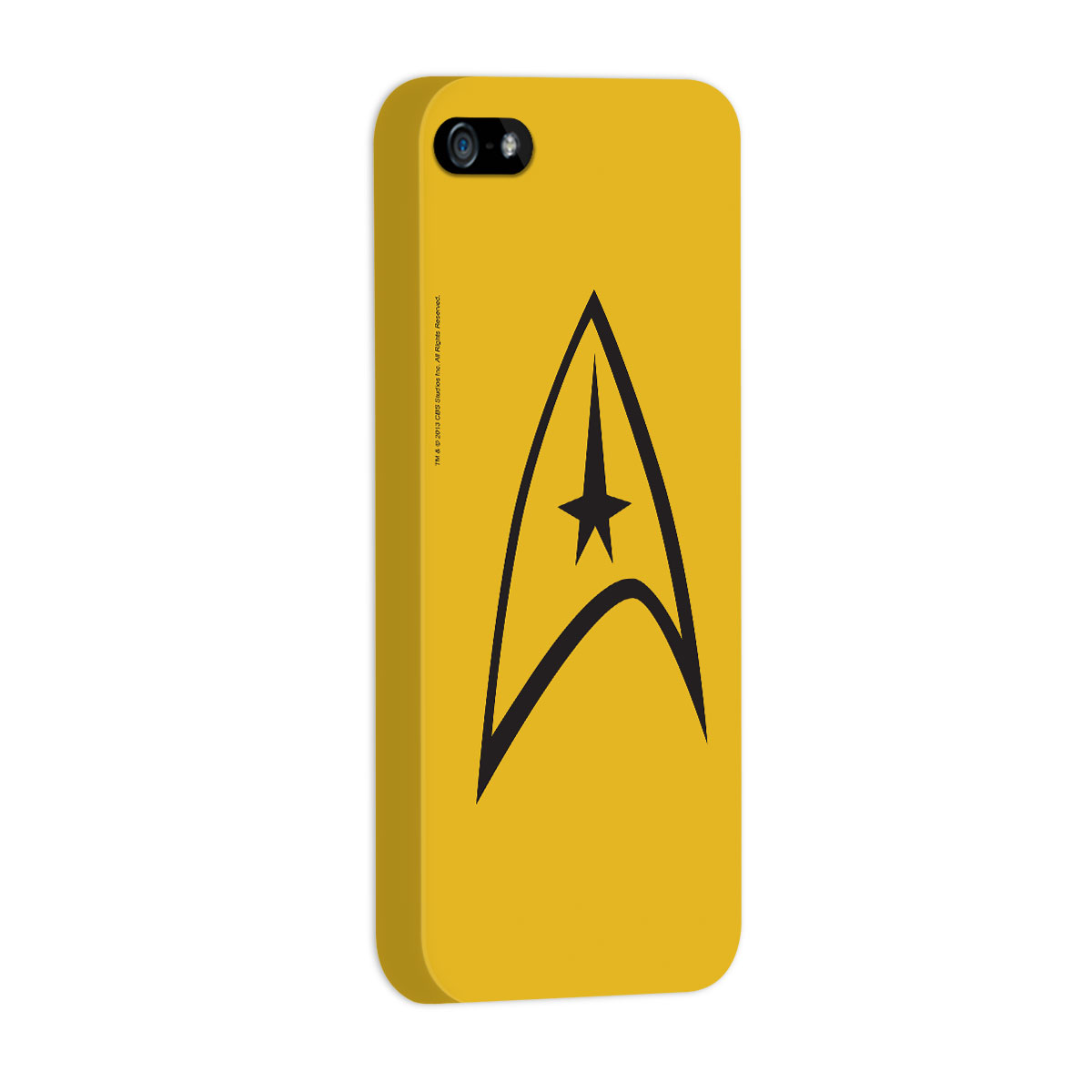 Capa de iPhone 5/5S Star Trek Command Yellow