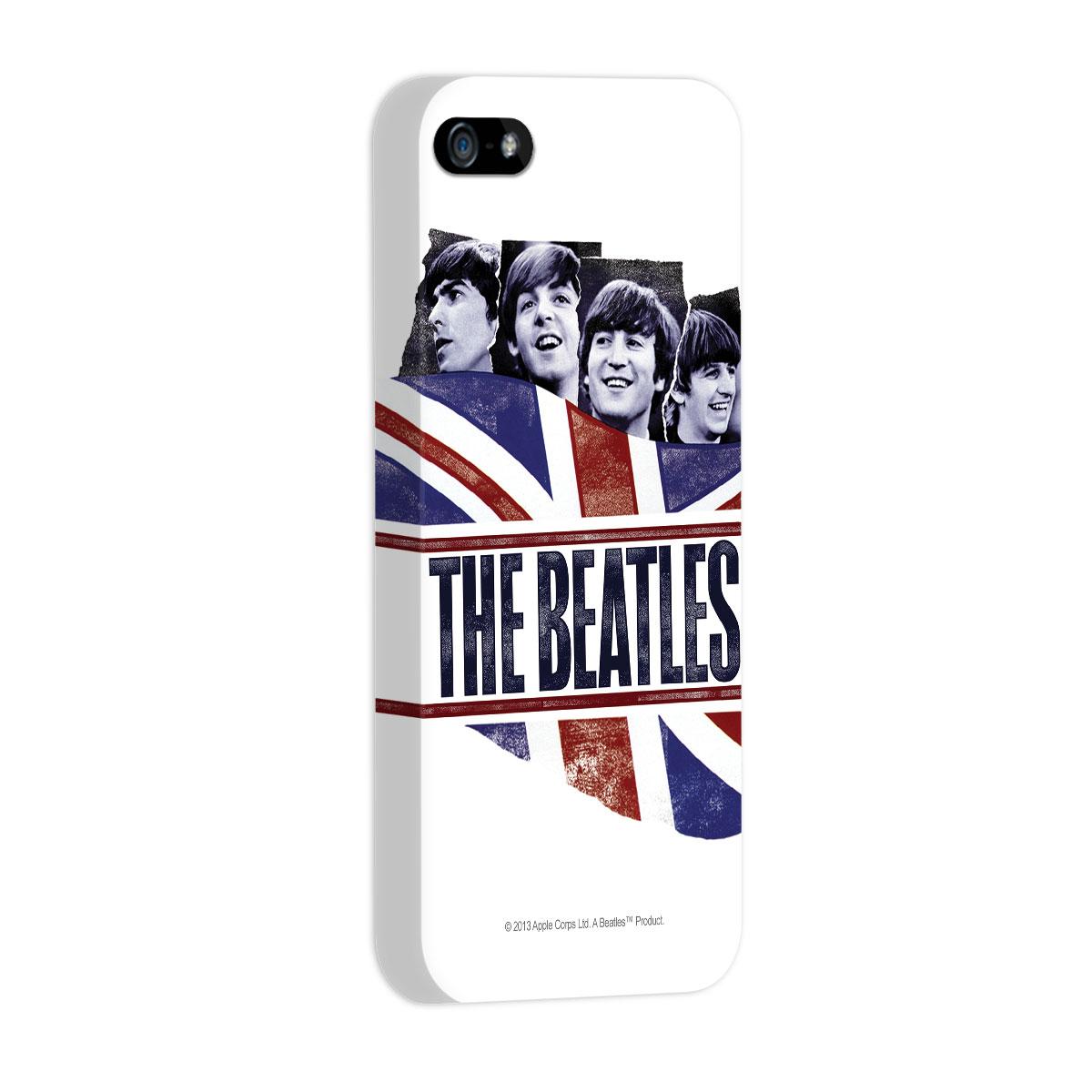 Capa de iPhone 5/5S The Beatles England Flag