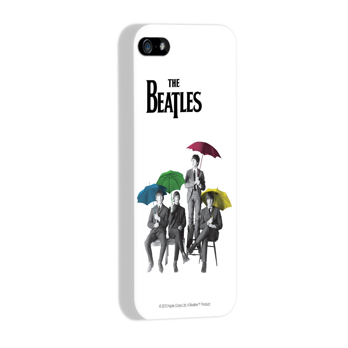 Capa de iPhone 5/5S The Beatles Umbrella Colors