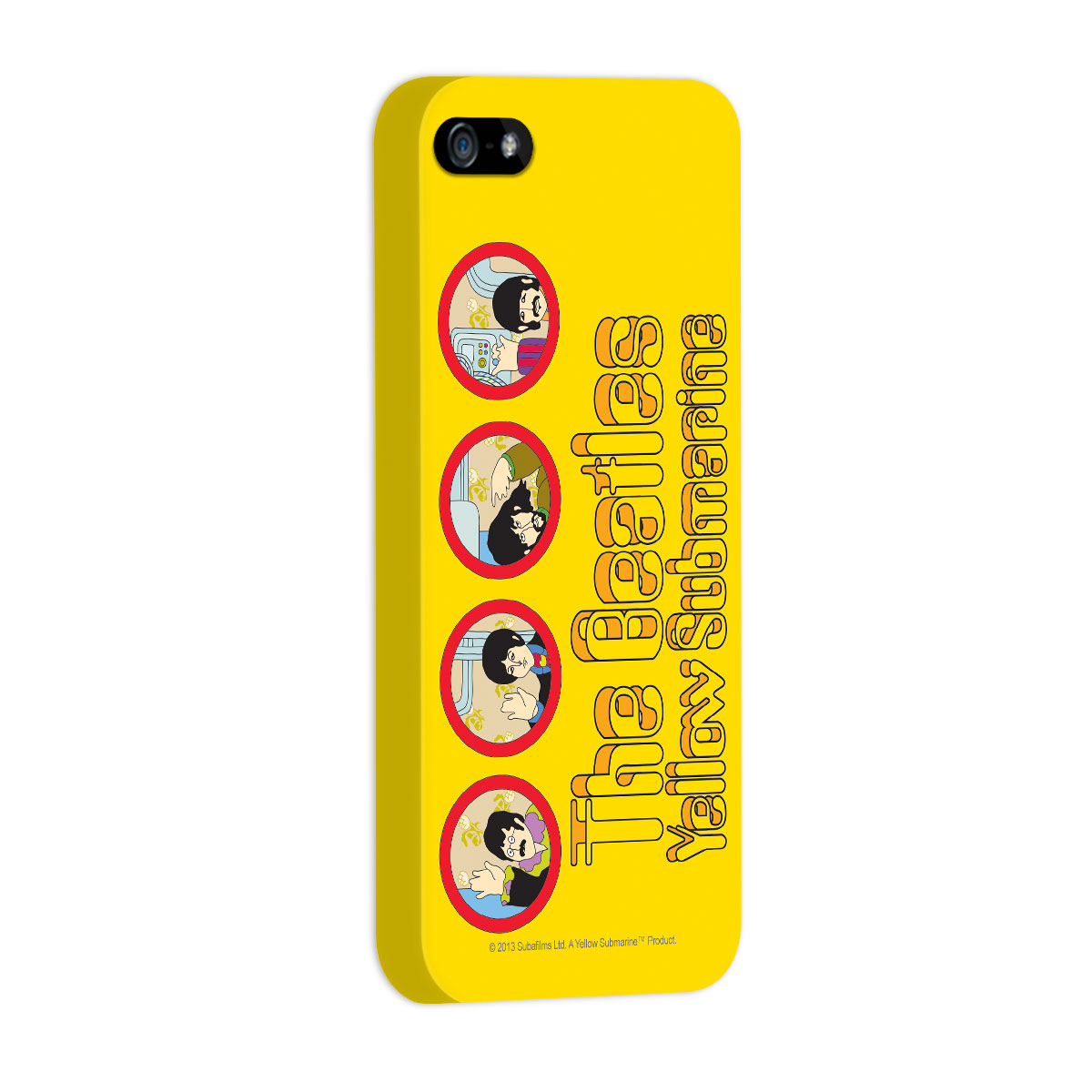 Capa de iPhone 5/5S The Beatles Yellow Submarine 2