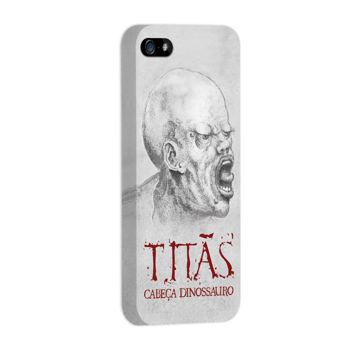 Capa de iPhone 5/5S Tit�s Cabe�a Dinossauro