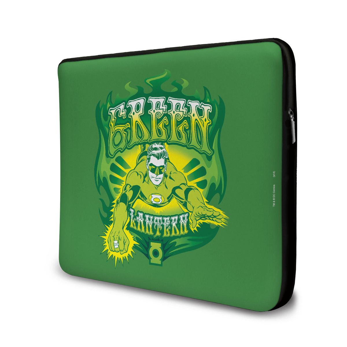 Capa de Notebook Lanterna Verde Em A��o