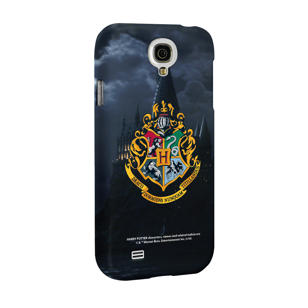Capa para Galaxy S4 Harry Potter Hogwarts