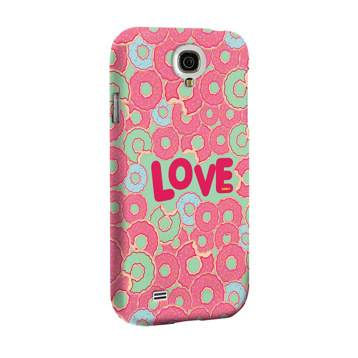 Capa para Galaxy S4 TodaTeen Love Donuts!
