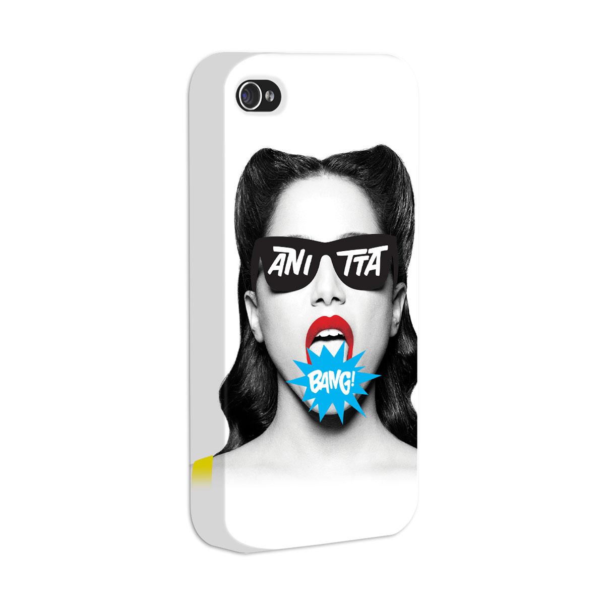 Capa para iPhone 4/4S Anitta Bang!