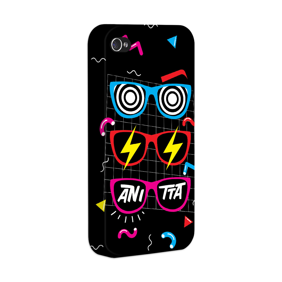 Capa para iPhone 4/4S Anitta Glasses