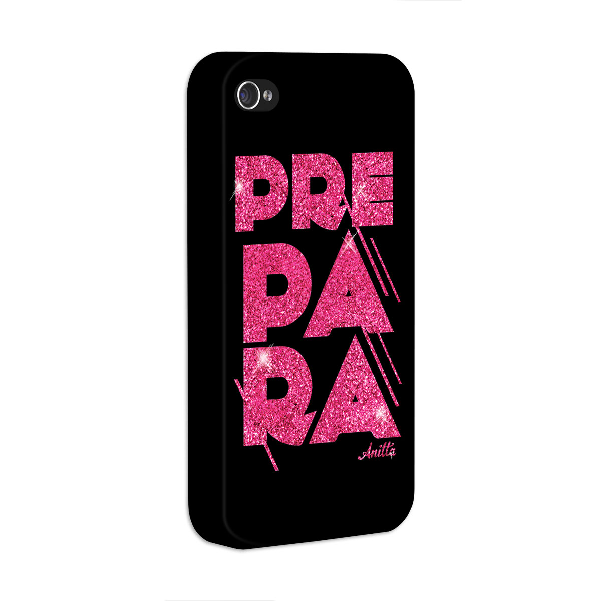 Capa para iPhone 4/4S Anitta Prepara Black
