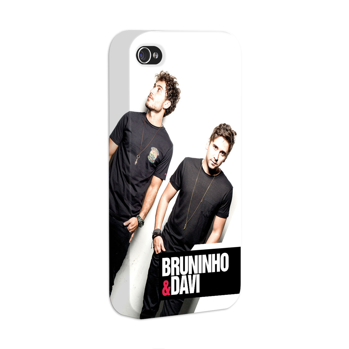 Capa para iPhone 4/4S Bruninho & Davi Foto