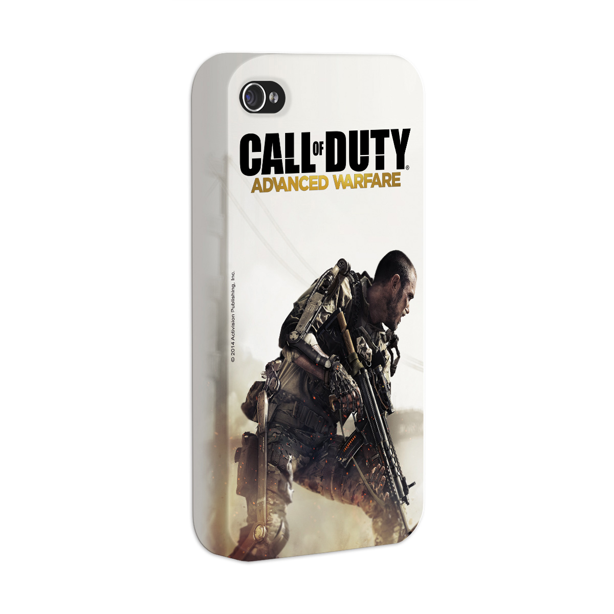 Capa Para iPhone 4/4S Call Of Duty Soldier