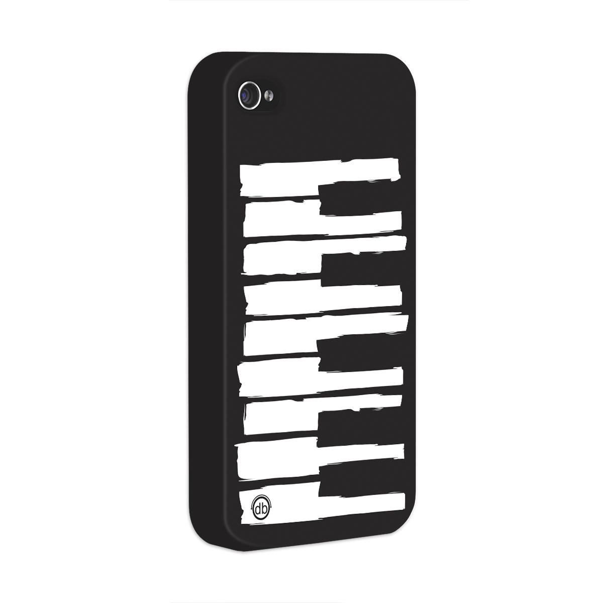 Capa para iPhone 4/4S Dudu Borges Musical Keyboard