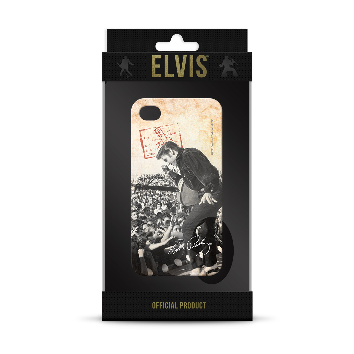 Capa Para iPhone 4/4S Elvis At Mississippi
