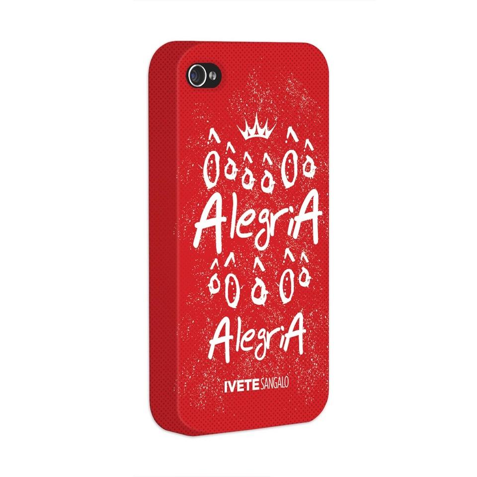 Capa para iPhone 4/4S Ivete Sangalo ��� Alegria