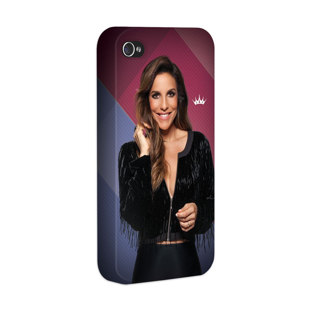 Capa Para iPhone 4/4S Ivete Sangalo Riso
