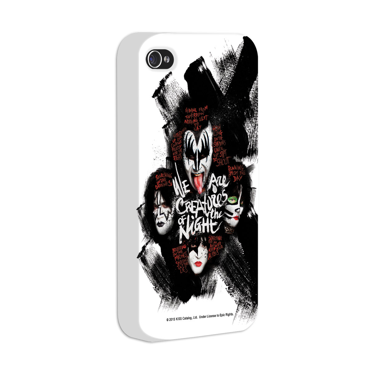 Capa para iPhone 4/4S Kiss Creatures Of The Night