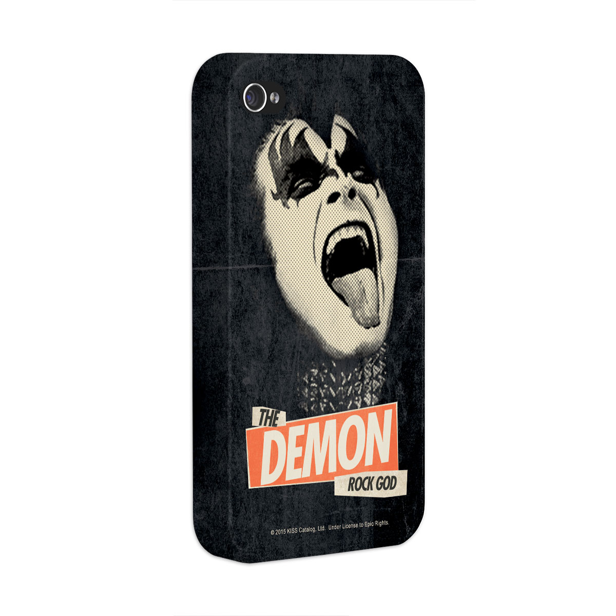 Capa para iPhone 4/4S Kiss Rock God