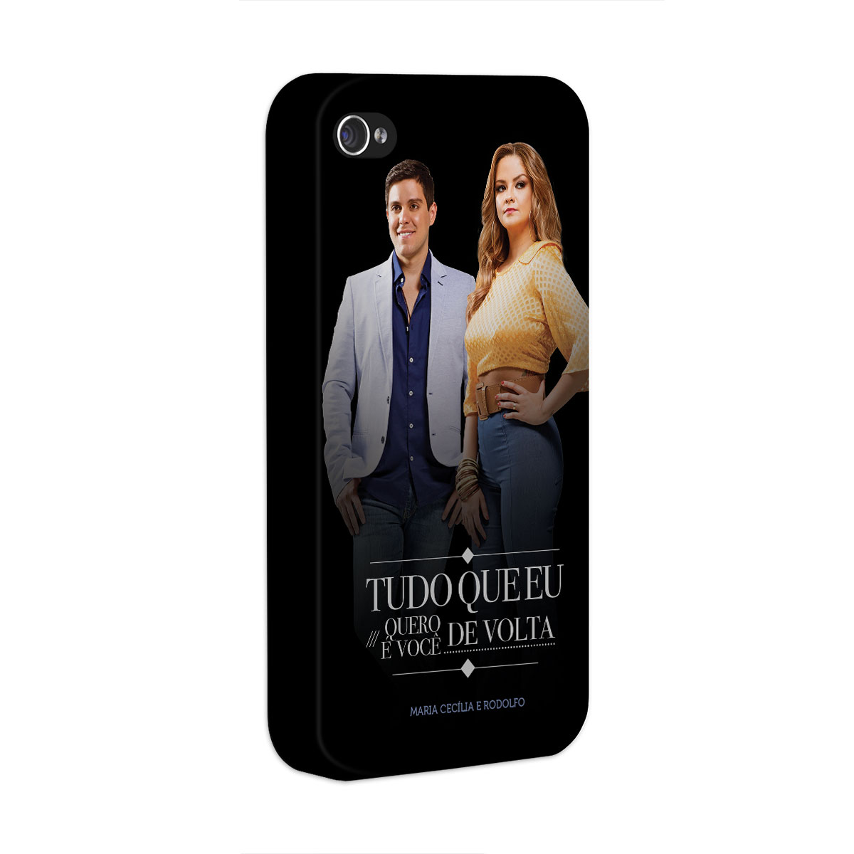 Capa para iPhone 4/4S Maria Cecília & Rodolfo Tudo Que Eu Quero