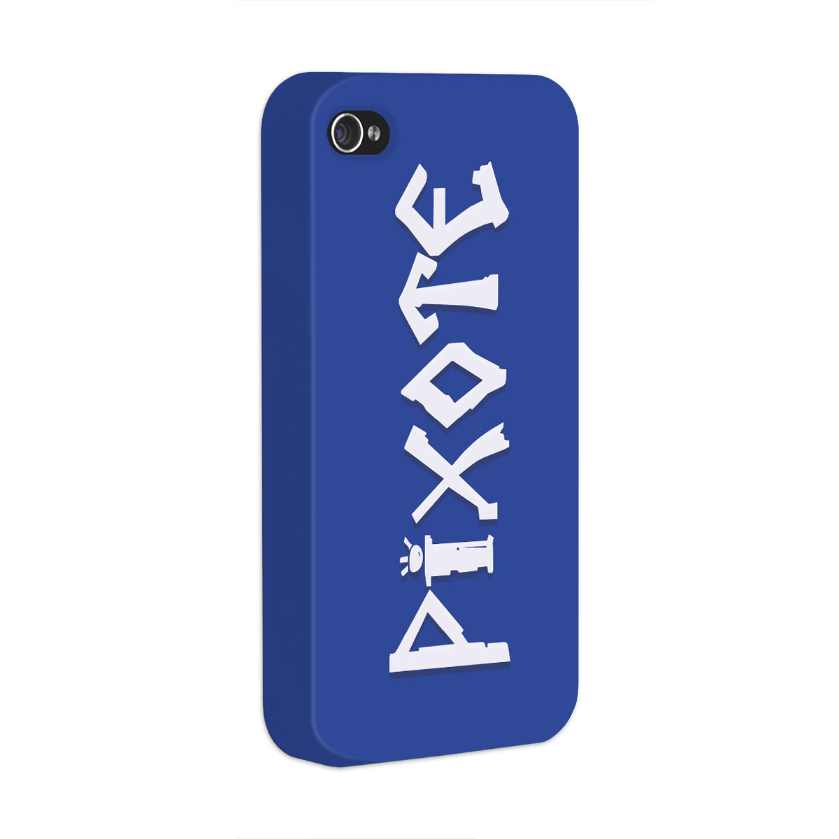 Capa para iPhone 4/4S Pixote Logo Blue