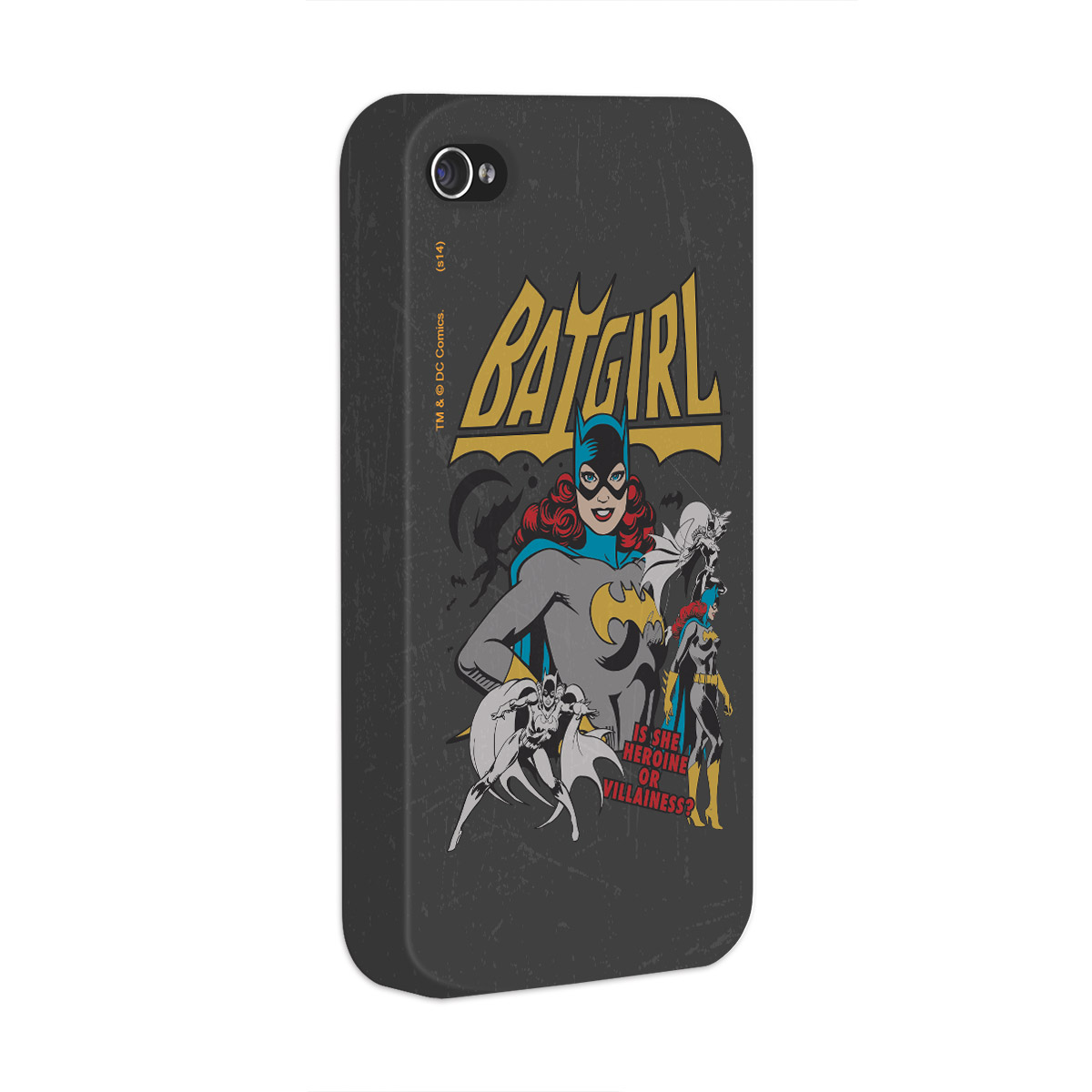 Capa Para iPhone 4/4S Power Girls Batgirl