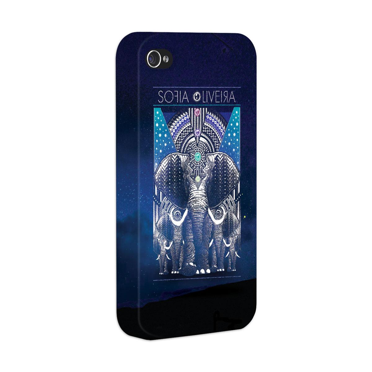 Capa para iPhone 4/4S Sofia Oliveira Elephant