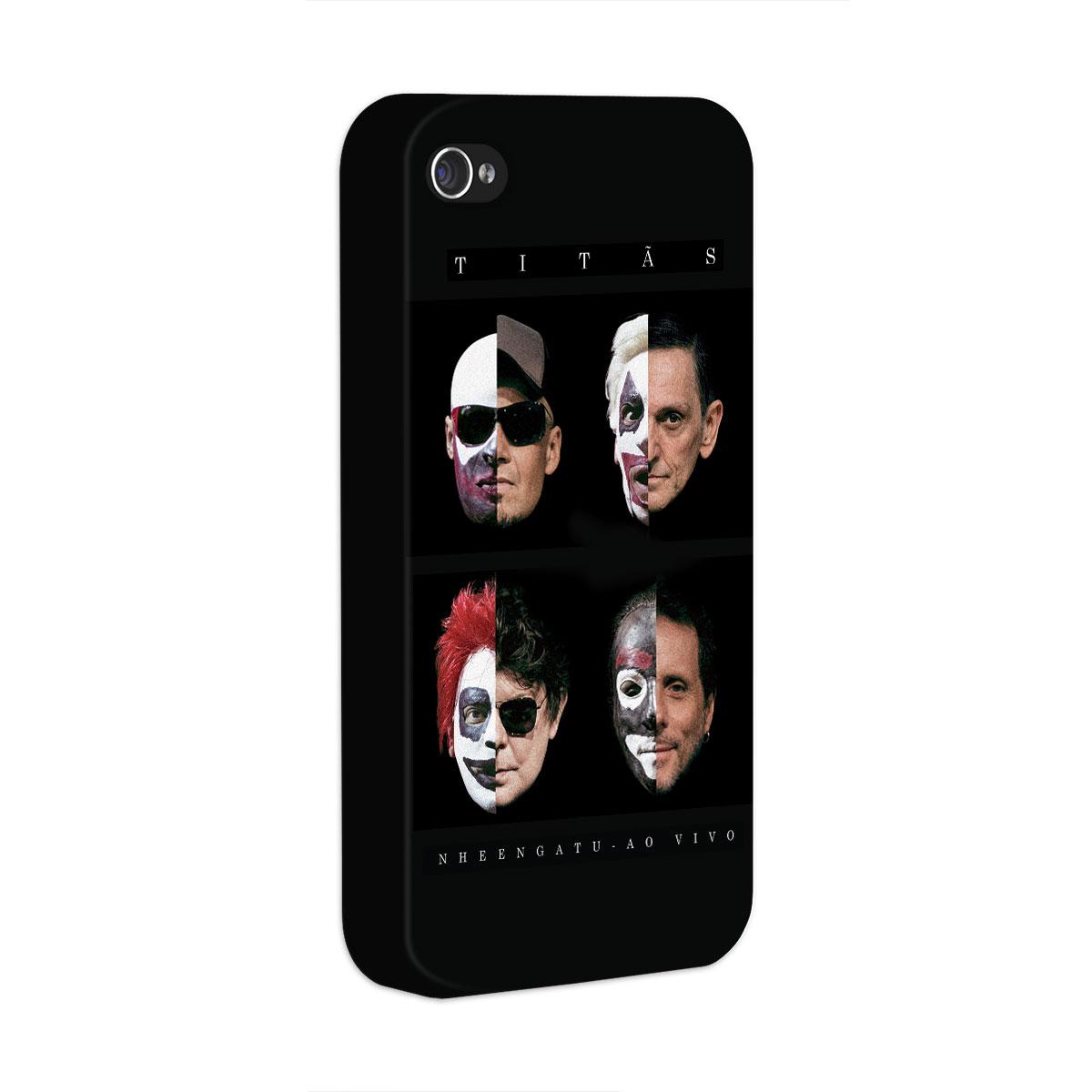 Capa para iPhone 4/4S Titãs Capa Nheengatu Ao Vivo