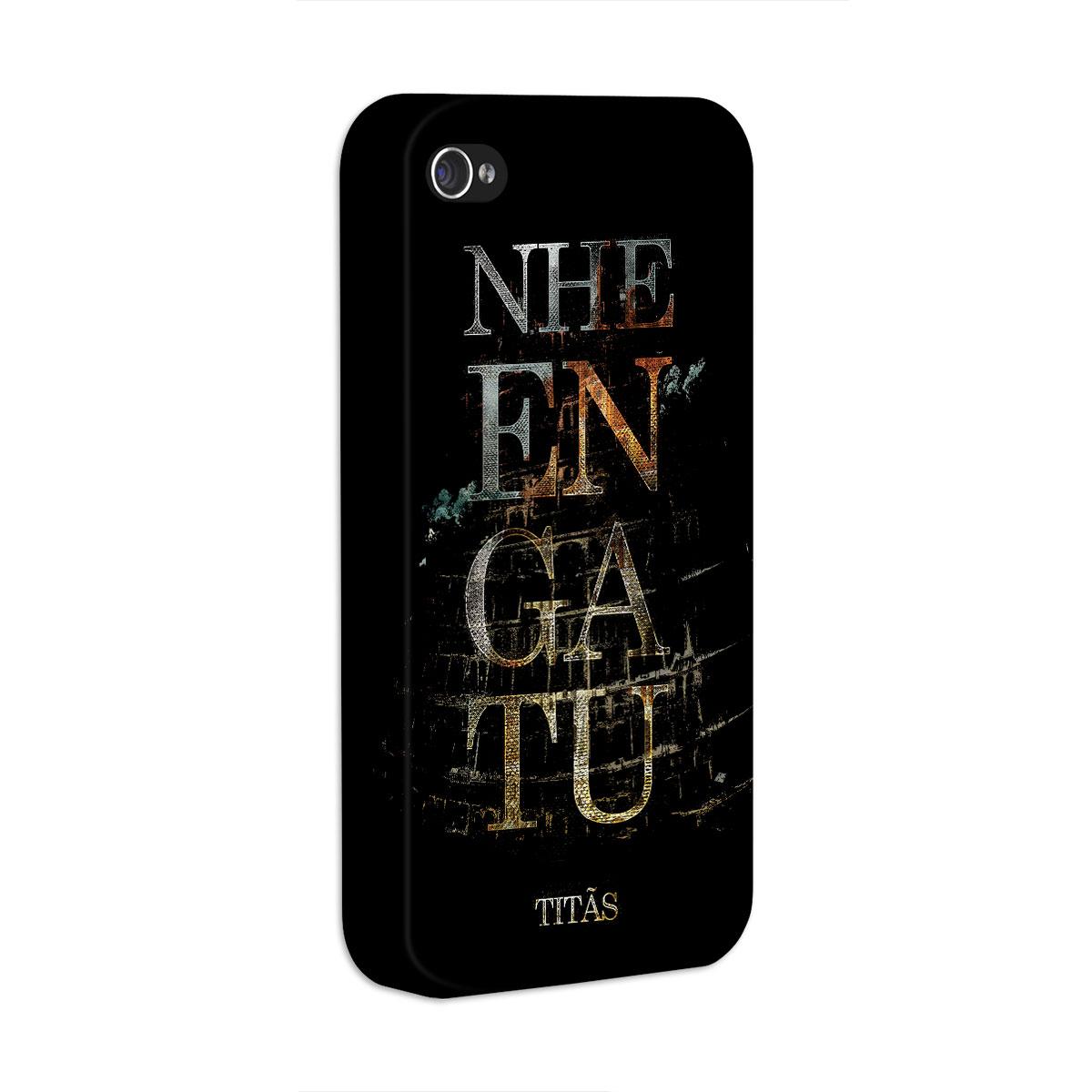 Capa Para iPhone 4/4S Titãs Nheengatu
