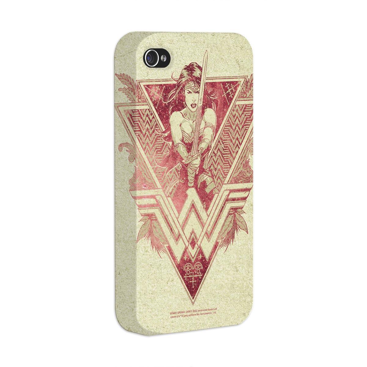 Capa para iPhone 4/4S Wonder Woman Warrior