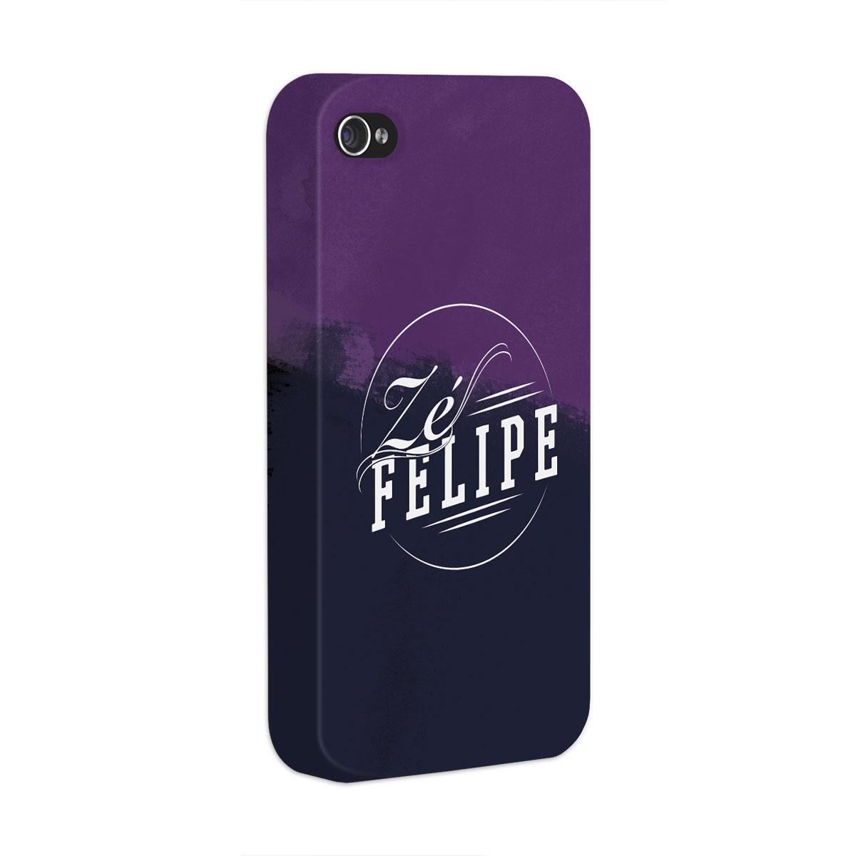 Capa para iPhone 4/4S Zé Felipe Logo
