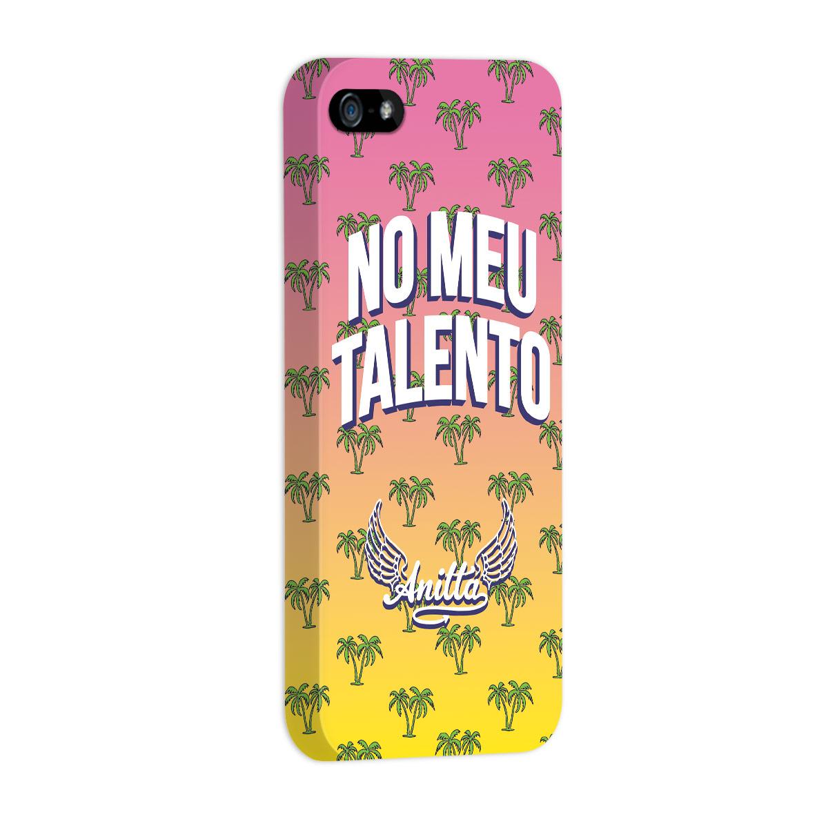 Capa para iPhone 5/5S Anitta No Meu Talento